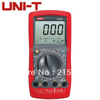 UNI-T UT106 Digital Automotive Multi-Purpose Meters UT-106 Handheld AC DC Volt Amp Ohm Temp Automotive Multimeter