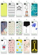 Mobile Phone Case Hot 1pc Art Plants Prints Hybrid Design Protective White Hard Case For IPHONE 5 5s Free Shipping