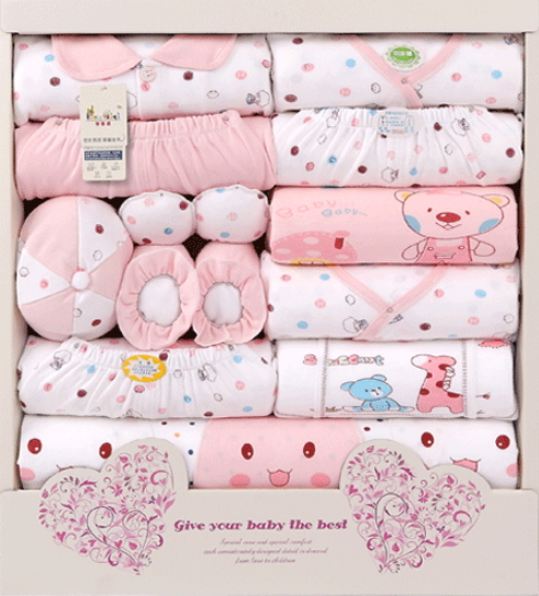 Firstcry Baby Gift Sets : Free shipping pure cotton new born baby gift set box