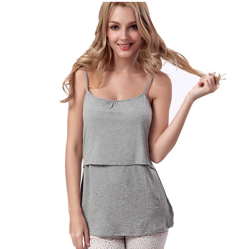 Modal Breastfeeding tank top camis bravado nurisng tank ...
