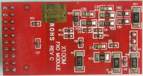 FXO module X100M for Digium TDM400p / TDM410P brand new(China (Mainland))