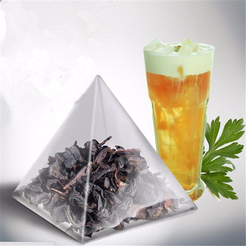 Pyramid bags Triangle tea high quality vanilla taste Puer tea Slimming Beauty Detox Aroma Mini Bag 2016 new Vanilla Pu'er Tea(China (Mainland))