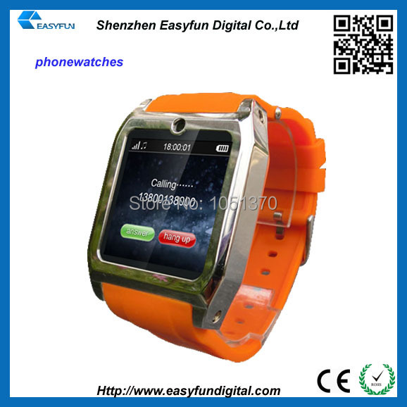 Free Shipping Wrist Mobile Watch 1.54'' watchPhone GSM/WCDMA USB Touchscreen Bluetooth smart watch phone(China (Mainland))