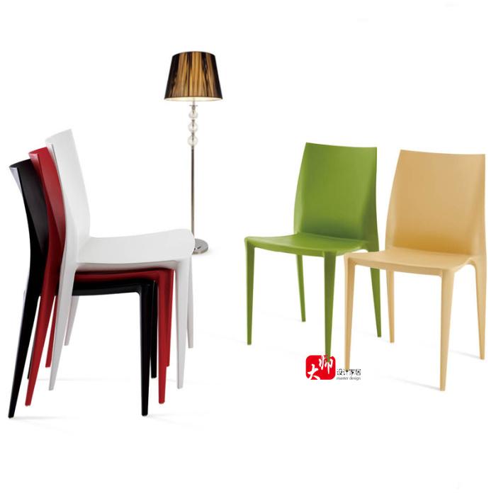 Bellini sillas sillas de plástico muebles minimalistas diseñador y ...