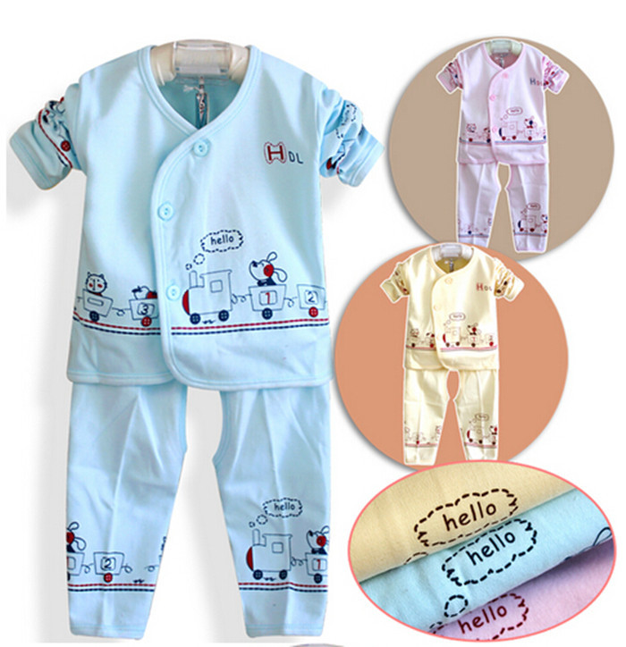 2015 newest style soft Infant cotton lace baby's sets monk clothes newborn baby infant underwear - Lucky Baby Shop store
