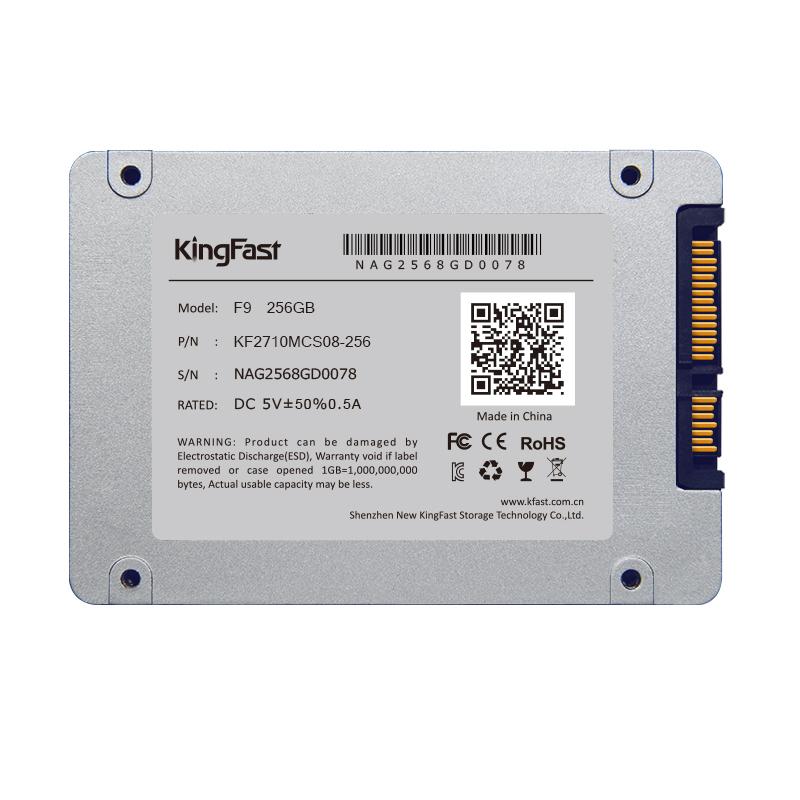 "F9 256GB KingFast 2.5"" SATA SSD For Dell HP Thinkpad Lenovo ASUS Acer Sony Toshiba Laptop Deaktop PS3 PS4 Free Shipping(China (Mainland))"