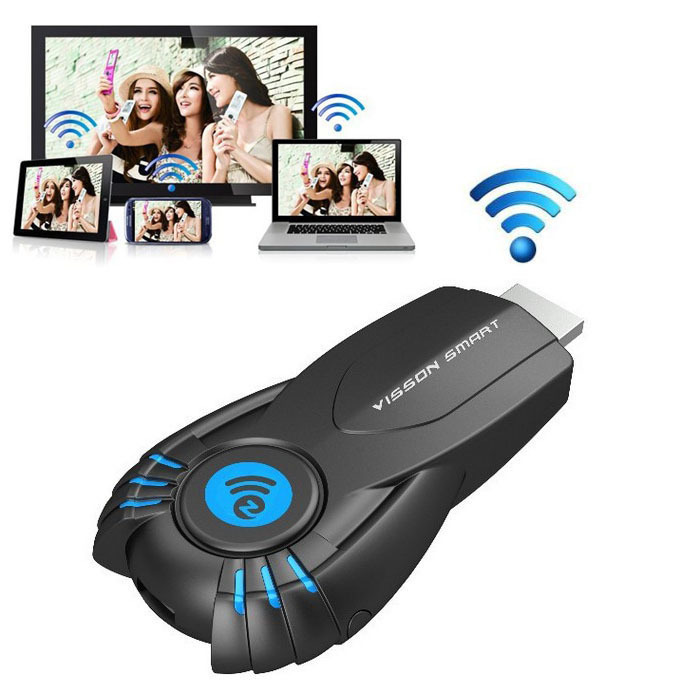 Best Smart TV Stick Ezcast Miracast Dongle DLNA Airplay MirrorOP For IOS Andriod OS Windows better than android tv ipush()