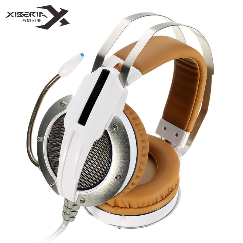 XIBERIA X11 Over-ear Gaming Headset Earphone Headband Headphone with Mic Stereo Bass Music Breathing LED Light for PC Game<br><br>Aliexpress