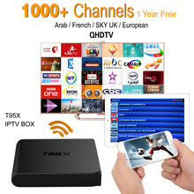 Buy European IPTV Box Android TV Box IPTV Receiver 1000+French Turkish Netherlands Channels Better MXV Android TV Box for $68.99 in AliExpress store