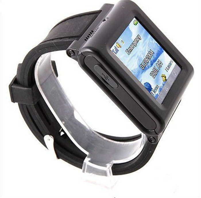 bluetooth MINI Students watch Cell Phone AK912 1.6 inch Touch Screen Single SIM Camera Silicon Strap FM(China (Mainland))