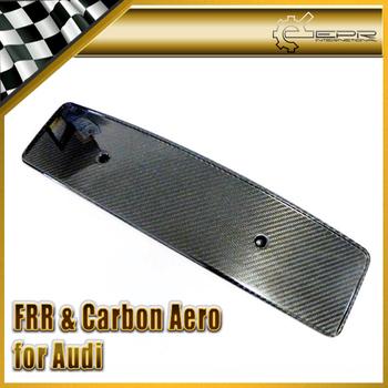 Car Styling Carbon Fiber Number Plate Licence Holder For Audi TT MK2 (Type 8J)