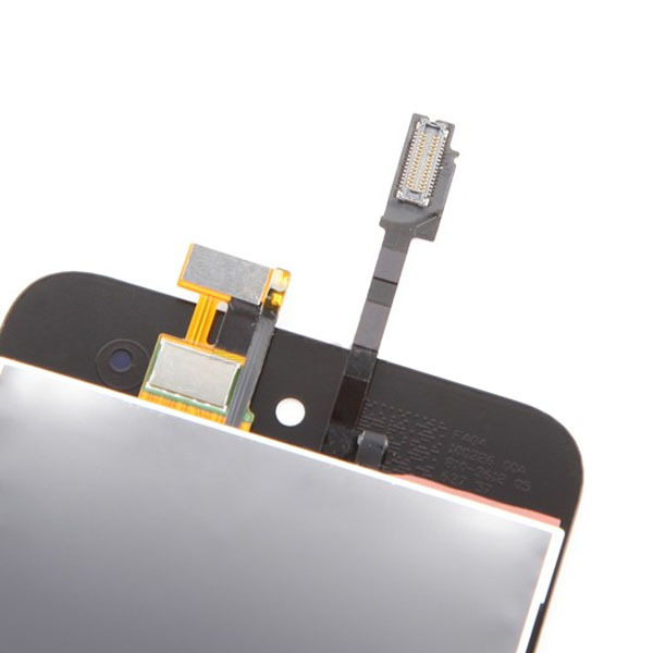 20pcs/lot white/ Black Touch Digitizer&LCD Display Assembly for iPod Touch 4 4G free shipping(China (Mainland))