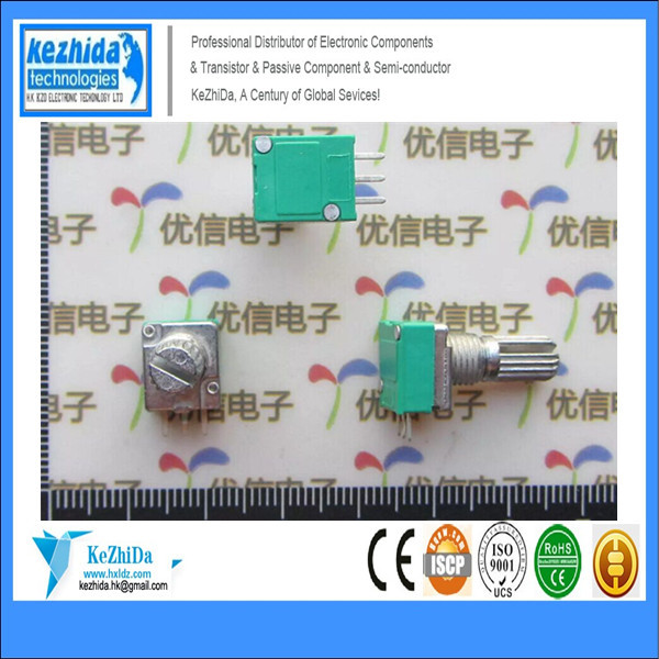 wholesale Duplex 3P audio amplifier sealed potentiometer B100k 15mm lotus potentiometer linear X 30pcs(China (Mainland))