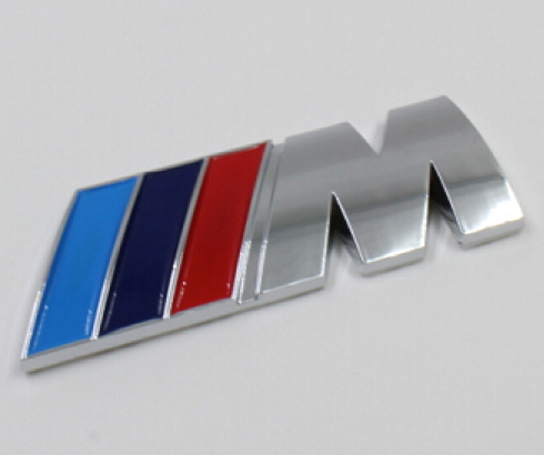 2 ABS M POWER CAR 3M STICKER BADGE Emblem Logo SPORT HOOD BOOT - Car modification Store store