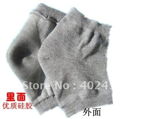 Free Shipping Wholesale Moisture  Jel Heel Sock /heel care cracked heel's killer Care for Feet 50pcs/lot