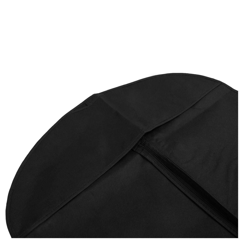 SZS Hot Black Travel Suit Wedding Cover Skirt Dress Garment Coat Shirt Bag Carrier Free Shipping(China (Mainland))