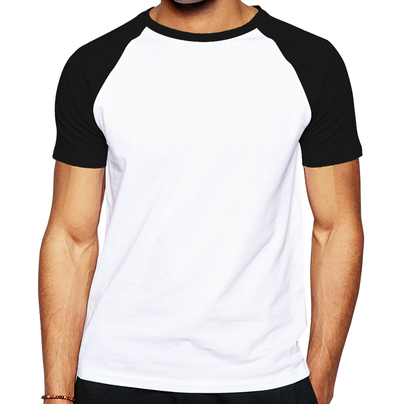 High quality cotton raglan sleeve men t shirt fashion for Where to order blank t shirts