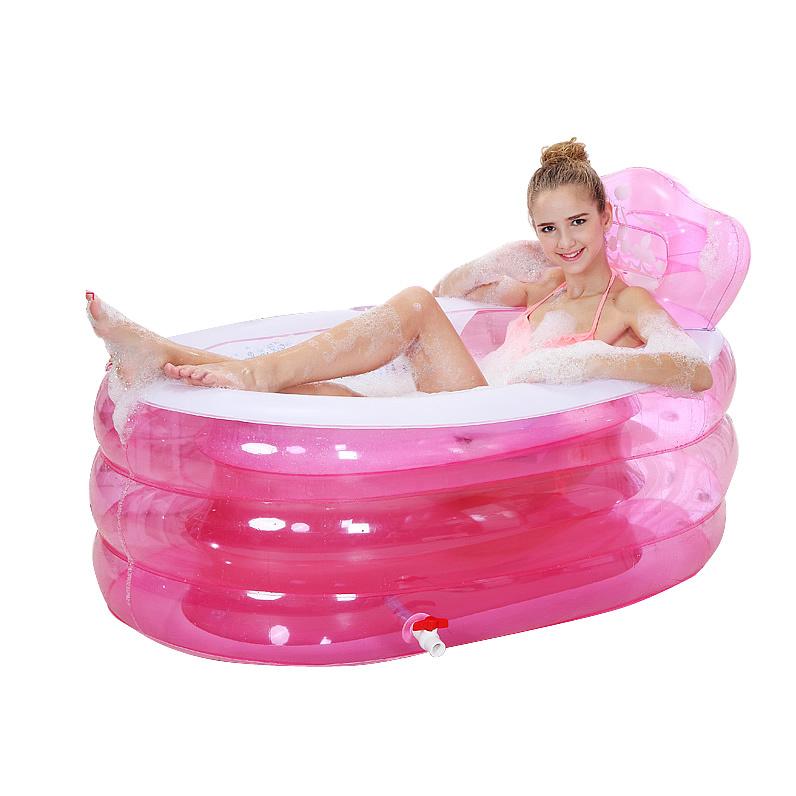 Spa Inflatable Bath Tub Adults Shower Tray Bidet Bathtubs