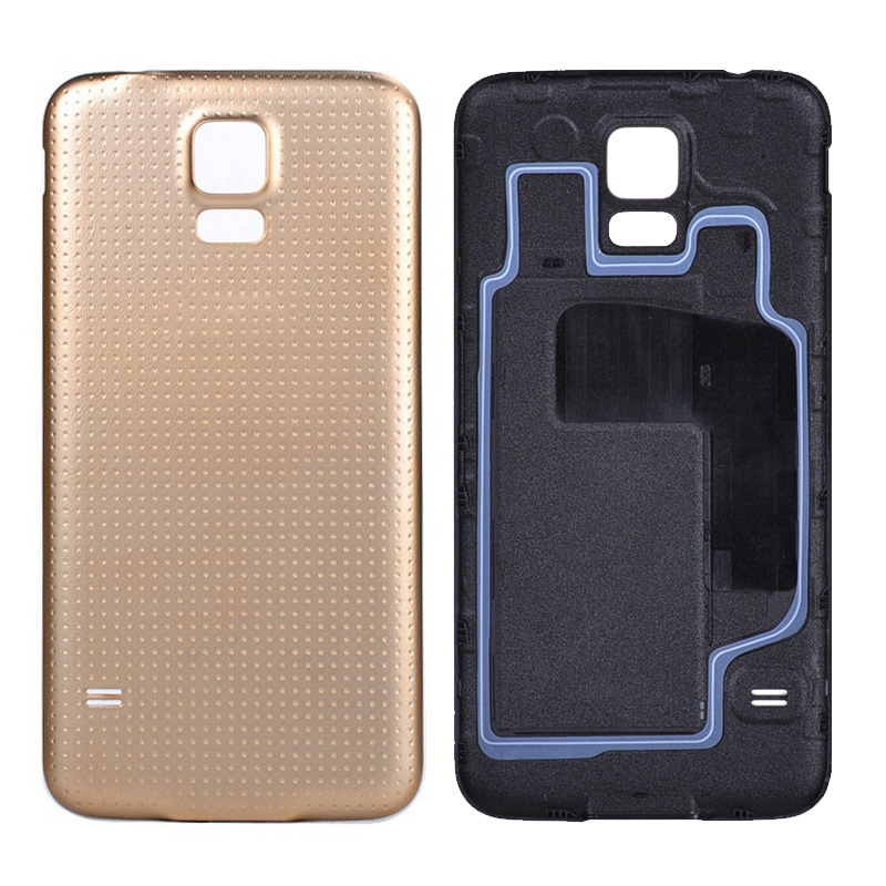100% New OEM Housing Battery Back Cover for Samsung Galaxy S5 i9600 Replacement Door Case Ultra thin