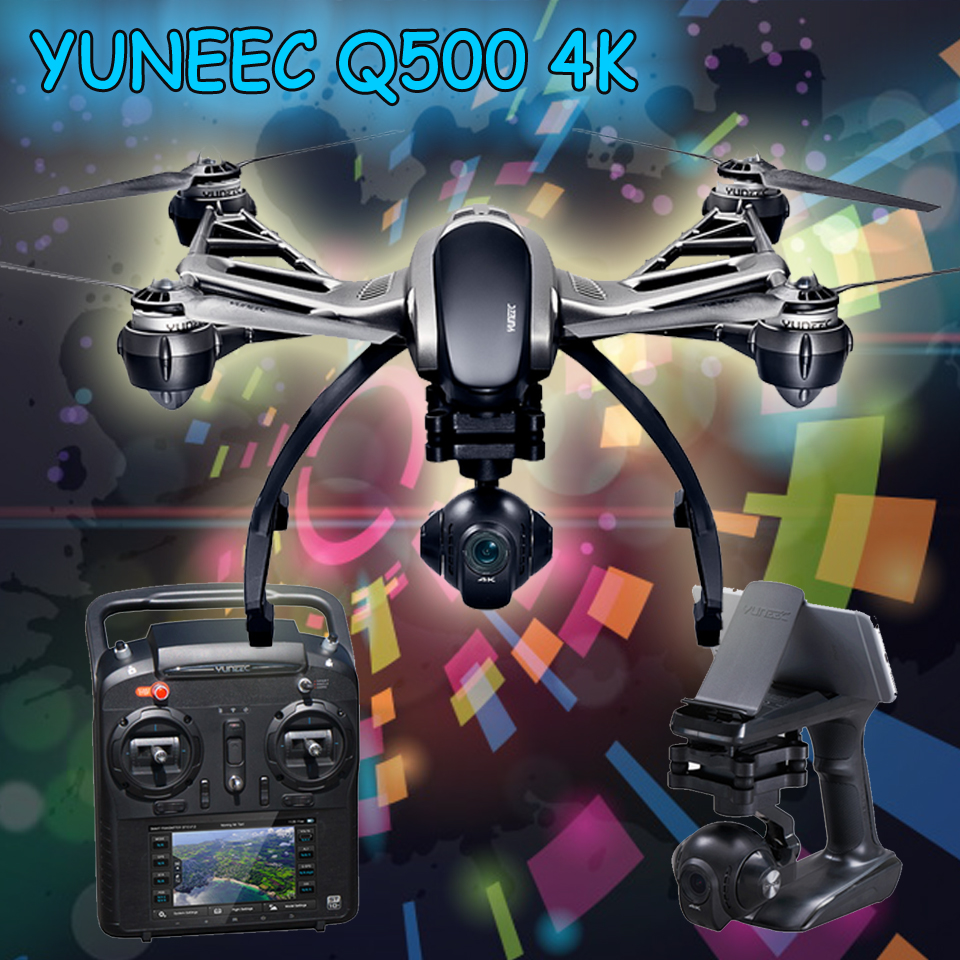 FPV Drone Yuneec Typhoon Q500 4K Quadcopter RC Drone with Camera Handheld Gimbal Double Battery and Original Case Drop Ship<br><br>Aliexpress