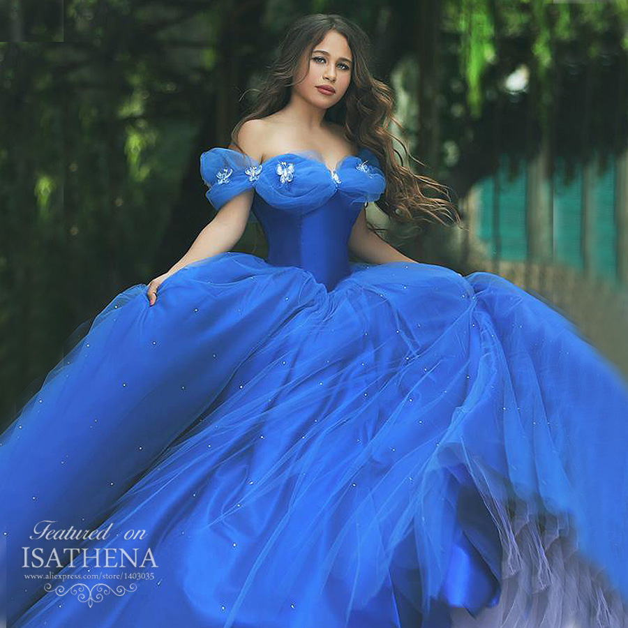 Blue Cinderella Ball Gown Dresses | Gowns Ideas