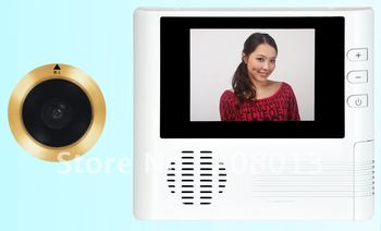 Promotion Latest  Diy Free shipping by DHL Hotsale 2.8 inch large screen video doorphone Christma gift