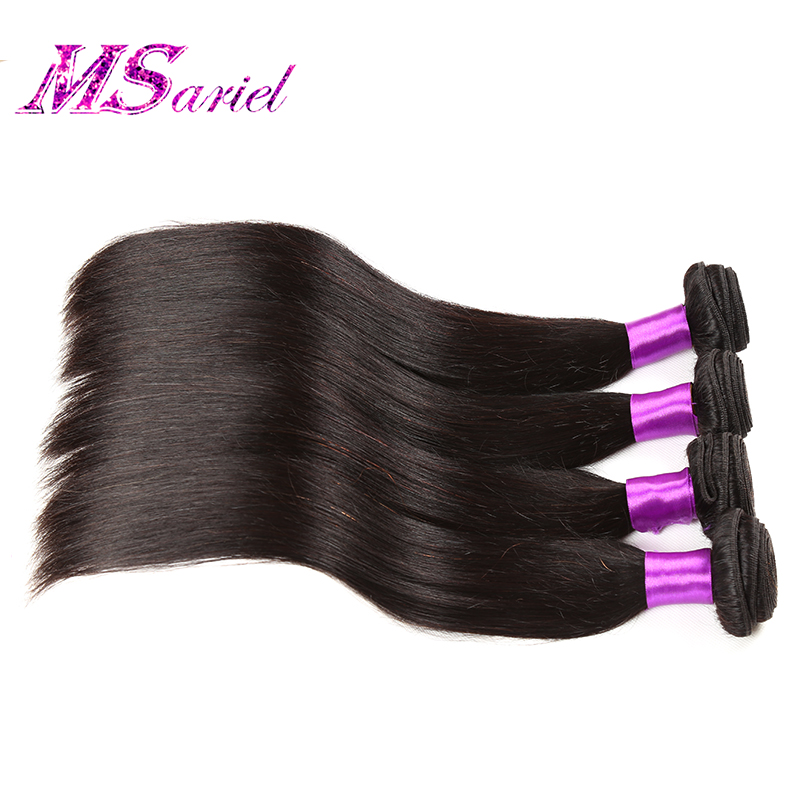 Brazilian Virgin Hair Straight 4pcs Cheap Brazilian Hair 4 bundles Brazilian Hair Weave Bundles kbl Brazilian Virgin Hair