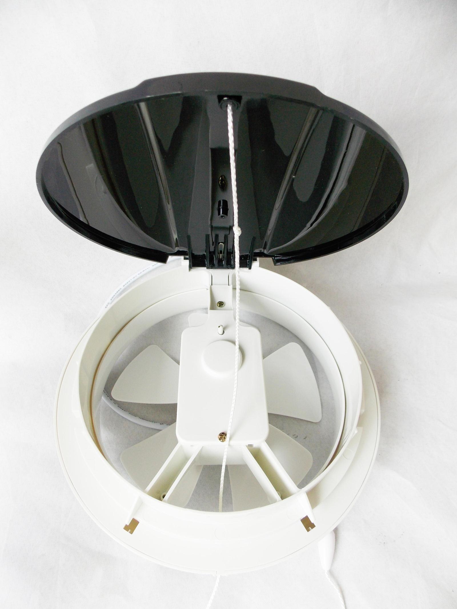Round glass window exhaust fan exhaust fan bathroom for 7 bathroom exhaust fan