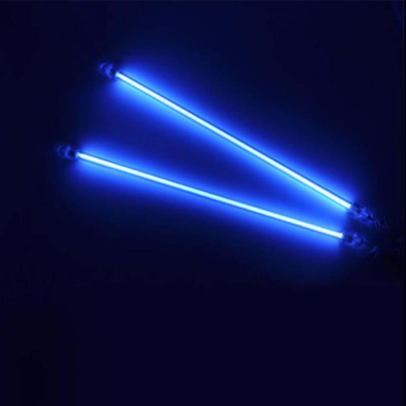 4X13 Cold Cathode Fluorescent Lamp Under CCFL Exterior Home Interior Light Blue 12V Under Car Underbody Neon(China (Mainland))