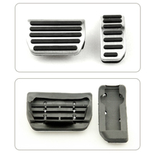 High Quality Anti-Slip Accelerator Pedal and  Brake Pedal Car-Cover Suitable for Volvo S40 S60 V60 S80L XC60 Car Accessories(China (Mainland))