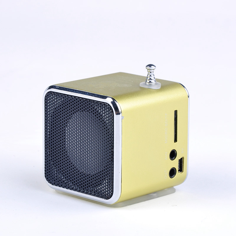 promotion price unique td v26 micro sd tf usb mini speaker mp3 music player portable fm radio. Black Bedroom Furniture Sets. Home Design Ideas