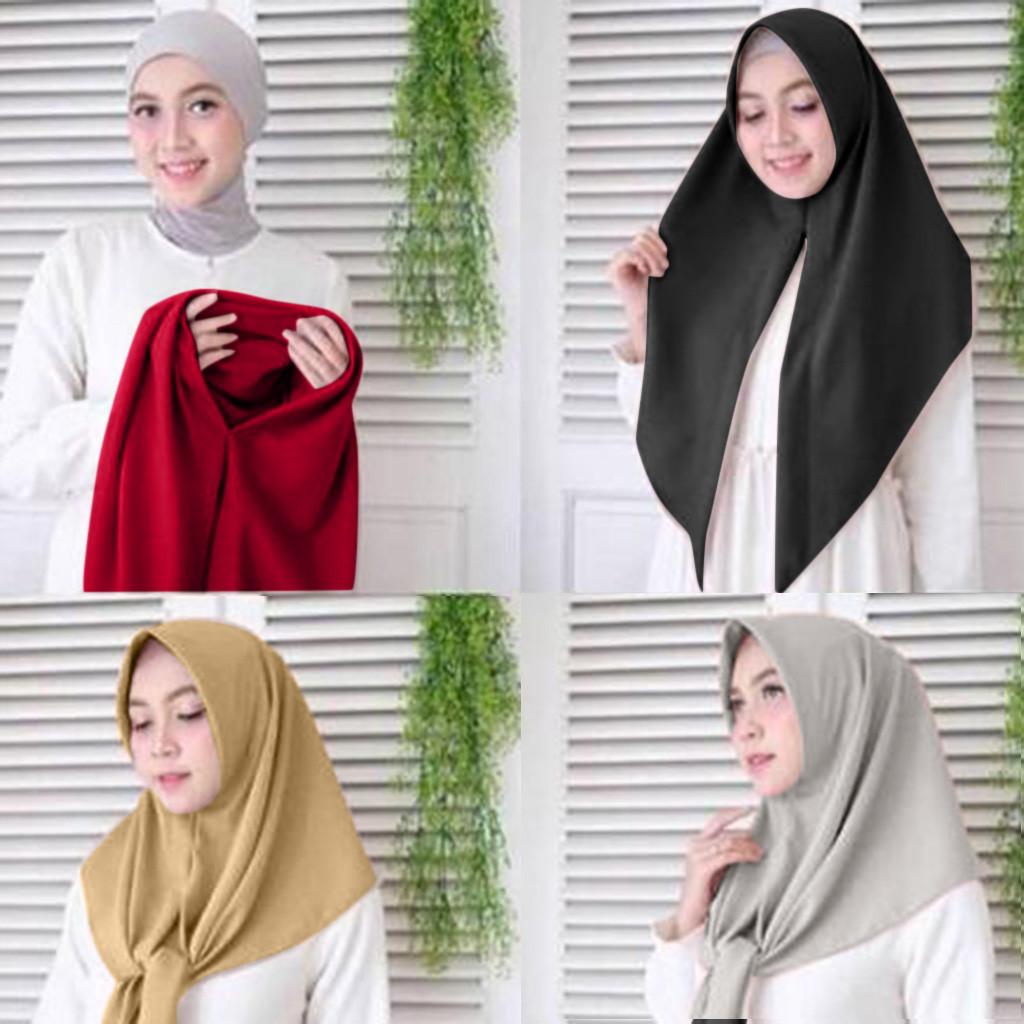 Women Islamic Muslim Scarf Tube Bonnet Cap Lady Under Head Cover Wrap BS