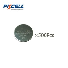 Buy Wholesale 500Pcs/PKCELL 600MAH CR2450 3V Lithium Battery Button Cell Batteries DL2450 ECR2450, BR2450, KCR2450, LM2450, 5029LC for $147.99 in AliExpress store