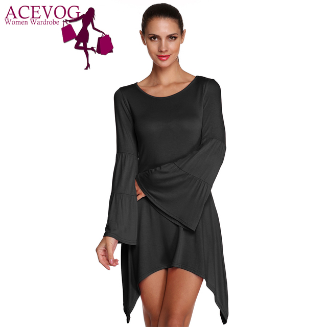 ACEVOG Марка Женщины Элегантный Блузки Мода Супер Большой Размер Свободно Случайные ...