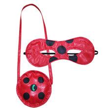 Hot 15-20cm biedronka pluszowe lalki Lady Bug miękkie nadziewane zabawki dla dzieci maski cosplay akcesoria do toreb wisiorek Plagg i Tikki Cat Noir(China)