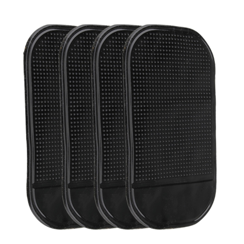 Free shipping hot sale 4PCs Black Magic Sticky Pad Anti Slip Mat Car Dashboard for Cell Phone FC