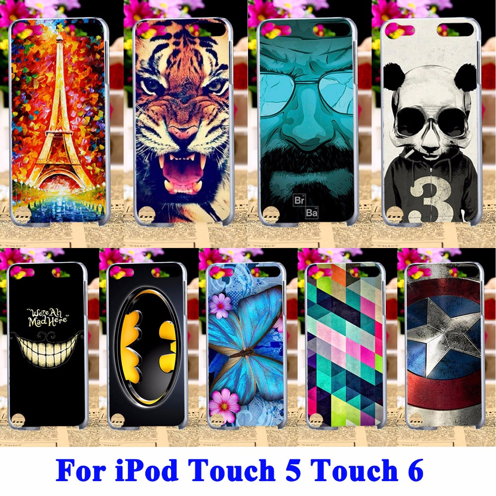Hard Plastic Covers Cases For Apple iPod Touch 5 5th 5G Touch 6 6th touch5 touch6 Housing Cover Skin Captain American Shell Hood(China (Mainland))