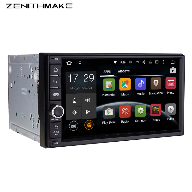 Free shipping QuadCore 7'' Double din android universal 2Din Android Car GPS Universal 7inch car Audio auto Stereo 2 din no dvd(Hong Kong)