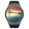 Full Round Smartwatch Heart rate monitor Wrist band russian indian arabic bluetooth Smart watch gw01 gear