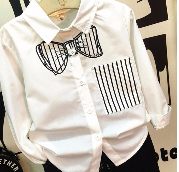 Baby Boys Girls British Plaid Shirt Kids Spring Autumn Cotton London Style Shirt Children Bottom Wear Blouse Free Shipping