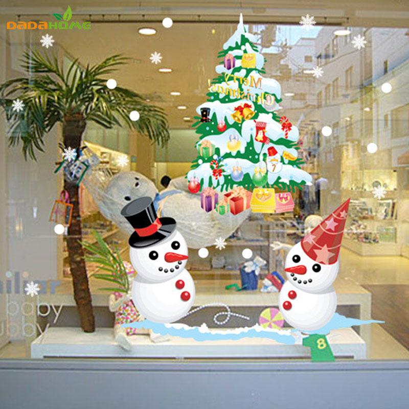 Buy the new shop window snowman christmas for Salon xmas decorations