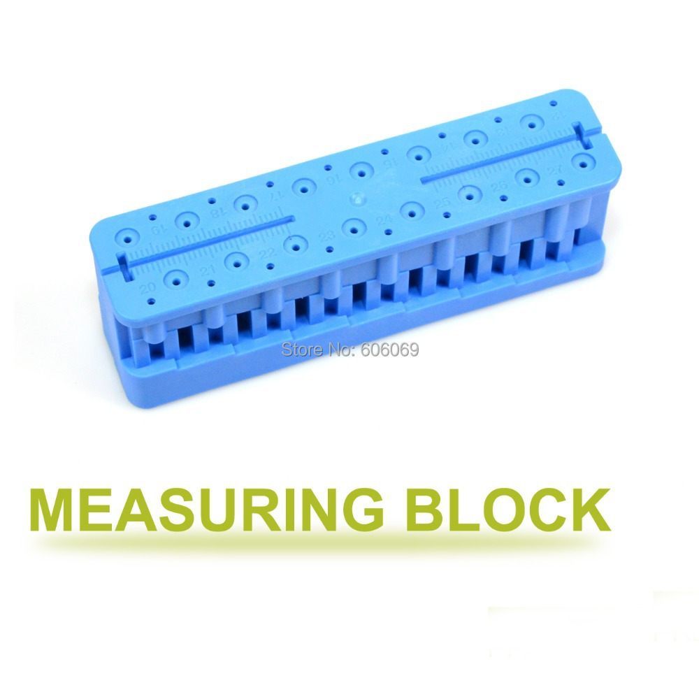 10pcs Dentist Lab Materials Dental Measurement Ruler Aluminium Measuring Block<br><br>Aliexpress