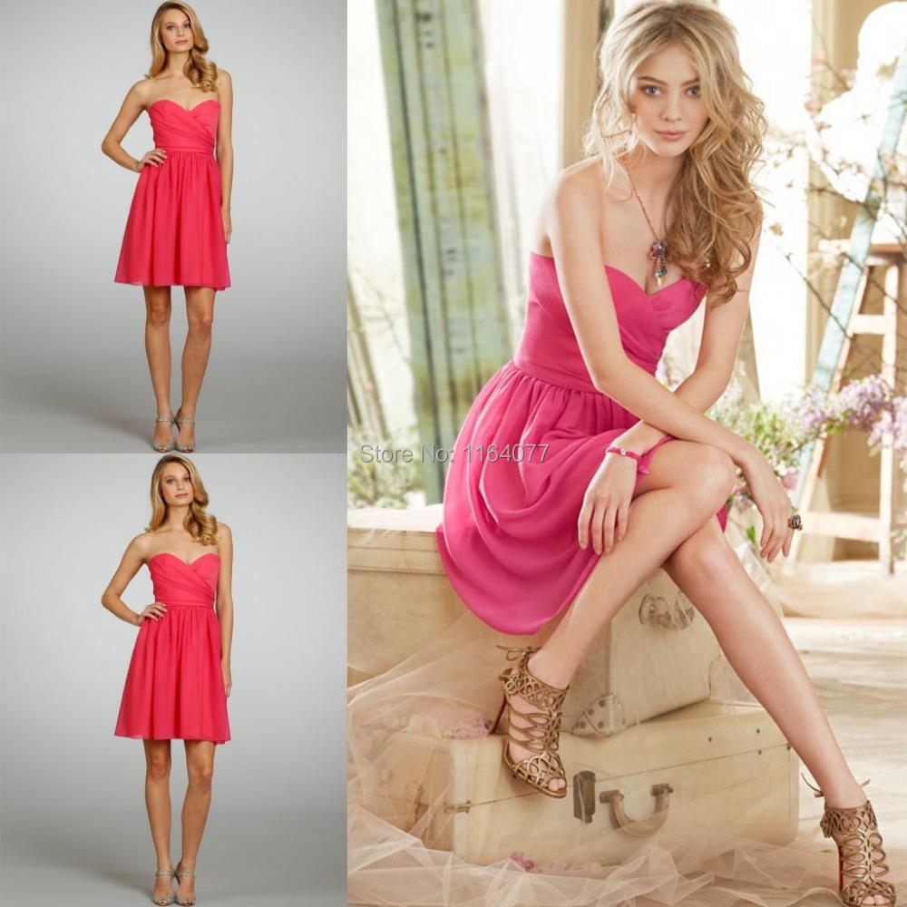 beautiful girls lady formal sweetheart sleeveless chiffon flow ruffles short wedding guest dress. Black Bedroom Furniture Sets. Home Design Ideas