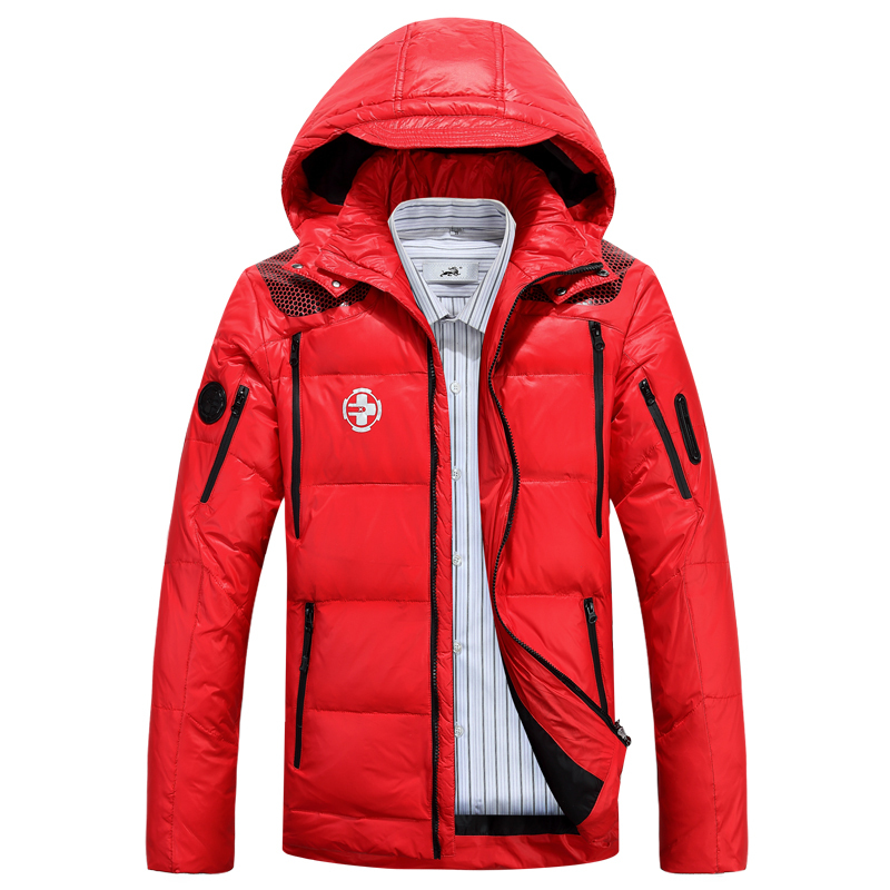brand 2015 winter ski suit fashion mens casual sports 90% white duck down jackets rlx outdoor thick warm parkas coats outerwearОдежда и ак�е��уары<br><br><br>Aliexpress