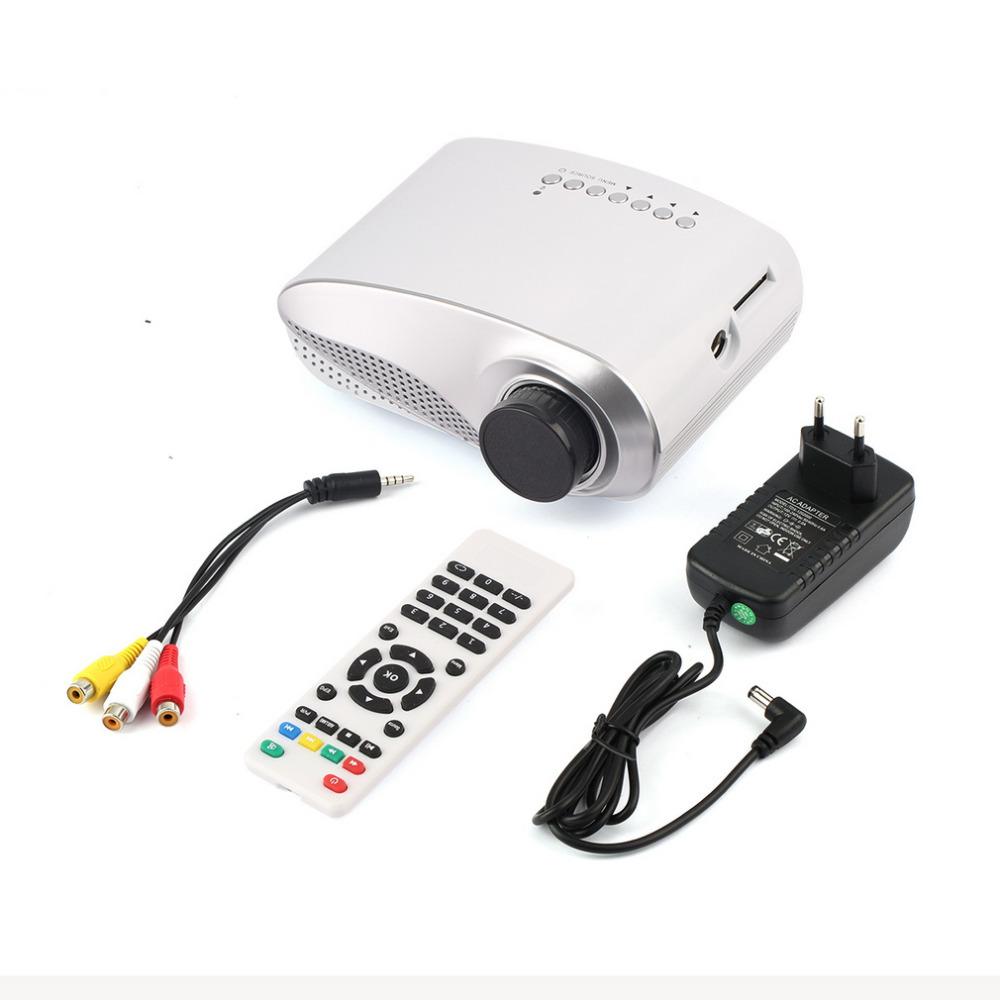 USB SD HDMI TV VGA HD LED Video LCD 1080P 3D Mini Home Theatre Portable Entertain Multimedia Projector PromotionHot New Arrival