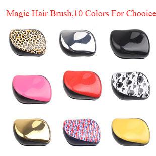 Girl Hair Wig Teezer Comb Cute Professional Extension Portable And Durable Anti-static Anti-hair Loss hair Brush loop Brush(China (Mainland))