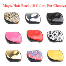 Girl Hair Wig Teezer Comb Cute Professional Extension Portable And Durable Anti-static Anti-hair Loss hair Brush loop Brush(China (Mainland))
