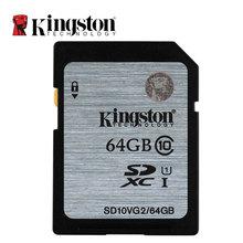 Original Kingston Real Capacity Class 10 SD Card 16GB 32GB 64GB 128GB Flash Memory Cards Digital SD Memory Card(China (Mainland))