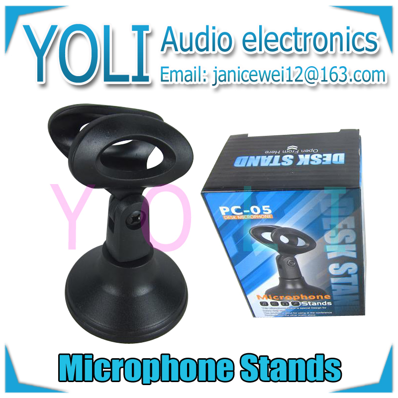 English Retail Box !! Desktop Circular seat Microphone Stands Good quality Plastic Mic Desk Stand For SM57 SM58 Beta58A Beta87A(China (Mainland))