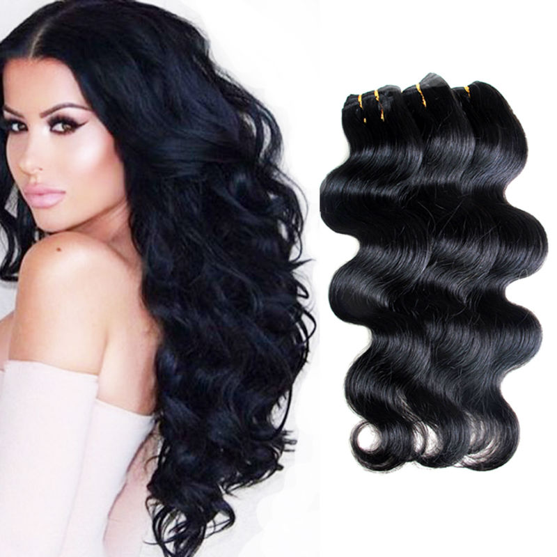 Peruvian Virgin Hair Body Wave Hair Queen Hair Products 6 bundles Cheap Fantastic Peruvian Human Hair Extensions Free Shipping(China (Mainland))